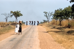 Women with head loads on road to Nsukka