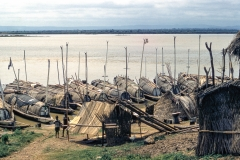 House boats at Lokoja