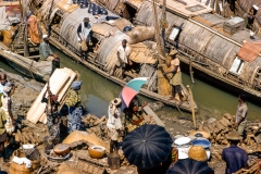 Onitsha market - Hausa boats